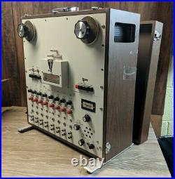 A. R. Vetter Model D Instrumentation Reel to Reel Tape Recorder UNTESTED