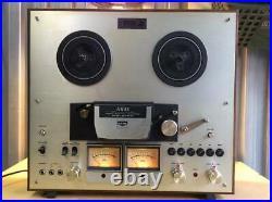 AKAI GX-270D Reel To Reel Tape Deck Motors Direct Drive Auto Revers Recorder