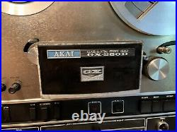 AKAI GX-280D Reel to Reel Tape Deck Player Tested and Works Original Box