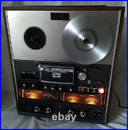 AKAI GX-280D-SS REEL TO REEL Tape Recorder 4 Channel Stereo Tape Deck Japan Made