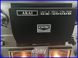 AKAI GX-600DB DOLBY 10.5 inch 4 Track STEREO reel to reel tape deck recorder