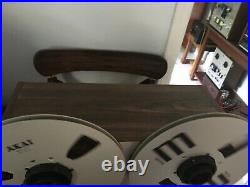 AKAI GX-630D 10.5 inch 4 Track STEREO reel to reel tape deck recorder GX 630D