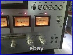 AKAI GX-630D-SS 10.5 inch 4 Track STEREO QUAD reel to reel tape deck recorder