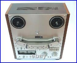 AKAI GX-635D 4 Track Stereo Tape Deck Reel To Reel Recorder Powers Parts Repair
