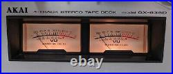 AKAI GX-635D 4 Track Stereo Tape Deck Reel To Reel Recorder & Wired Remote AS-IS