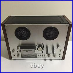 AKAI GX4000D Reel to Reel Tape Recorder Player R2R AS IS Recording Untested