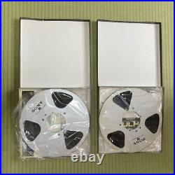 AKAI Open Reel Deck GX-635D with Empty Reels and Tape