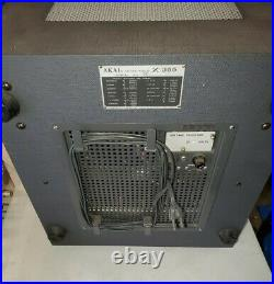 AKAI X-355 REEL to REEL TAPE RECORDER SERVICED COMPLETE WORKING