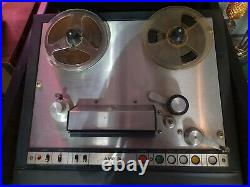 AMPEX AG-440 machine Reel to Reel w Preamplifier for restoration