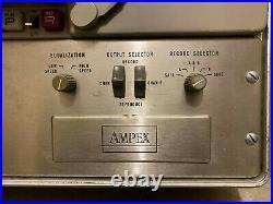 AMPEX PR-10 Stereo Tube Preamp & 15ips Reel-to-Reel Tape Recorder