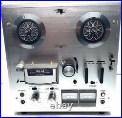 Akai 1722 II stereo Reel to Reel Tape Player/Recorder retro vintage MCM