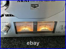 Akai GX-4000D Reel-to-Reel Tape Deck Player Recorder Works/100% Tested