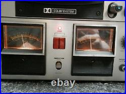 Akai GX-600DB Reel to Reel Tape Player/Recorder Tested Working