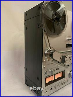 Akai GX-635D Reel to Reel Tape Deck/Recorder + Hubs Works Great, See Notes