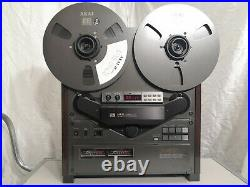 Akai GX-747 Auto-Reverse Reel To Reel Tape Recorder VU-Meter