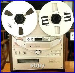 Akai GX-747 Stereo Reel to Reel Tape Recorder Tested-Works