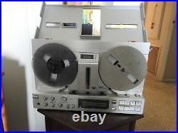 Akai GX-77 Stereo Reel to Reel Tape Recorder with Original Operator's Manual