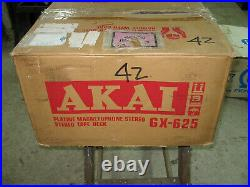 Akai GX625 Vintage Reel to Reel Tape Recorder in excellent used condition