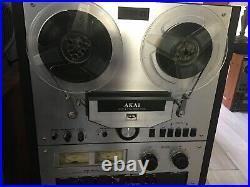 Akai Gx-267d 6 Head Auto Reverse Stereo 7 Inch Reel To Reel Tape Deck Recorder