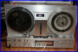 Akai Gx-77 Reel To Reel Tape Deck. Just Serviced. Works Great