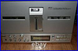 Akai Gx-77 Reel To Reel Tape Deck Serviced And Works Great