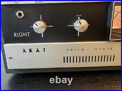 Akai M-9 Reel-To-Reel Recorder. Crossfield Heads