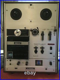 Akai X-2000s Reel To Reel Cassette, 8 Track