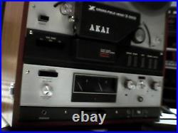 Akai X-360D Reel to Reel Analog Tape Recorder. Vintage Rare