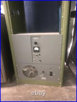 Ampex 300 Reel To Reel Tape Machine, 2 Track Recorder, 375 Power, Fan & Rack
