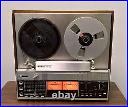 Ampex AX-300 Tape Deck Recorder Reel to Reel Working