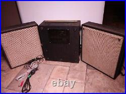 Extremely Rare Vintage 1950s-60s Nakamichi Fidela 55 Reel To Reel Tape Recorder