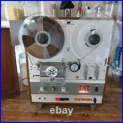 Fantastic Condition! Vintage Akai X-1800SD Reel to Reel 8 Track Tape Recorder