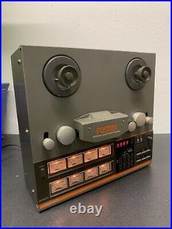 Fostex A-8LR Reel To Reel + Model 350 Recording Mixer