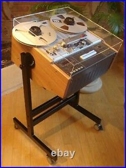 NEW CUSTOM MADE Cart Stand for Studer Reel Tape Recorders A B Series