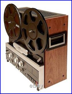 NEW Custom Metal and Wood Cabinet for Revox B77 Reel Tape Recorder