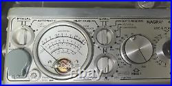 Nagra 4.2 Reel to Reel Tape Recorder with Nagra Power Supply and Black Case