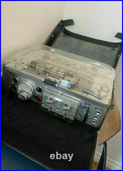 Nagra IV-SJ Kudelski Reel to Reel Tape Recorder