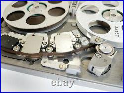 Nagra SN Reel Recorder with Two Tapes Switzerland Works & Looks Great