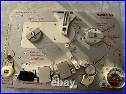Nagra SN Tape Recorder Reel Rare Spy Portable Miniature + Extras TESTED Kudelski