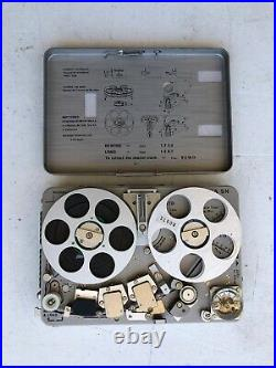 Nagra Sn Portable Tape Recorder Reel To Reel