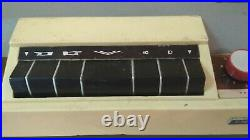 Old portable reel-to-reel tape recorder Vesna-3 1960-70s USSR. Works