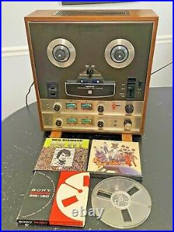 Pioneer QT-6600 Quadraphonic Reel to Reel Tape Deck Player Recorder