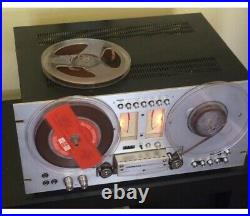 Pioneer RT-707 Auto Reverse Direct Drive Reel To Reel Recorder Tape Deck WORKS