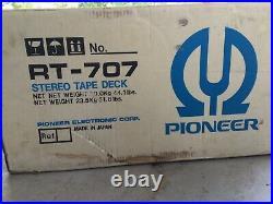 Pioneer RT-707 Open Reel Tape Recorder/Tape Deck