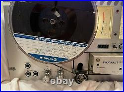 Pioneer RT-707 Open Reel Tape Recorder / Tape Deck GREAT CONDITION. Works Great