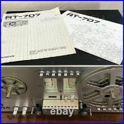 Pioneer RT-707 Reel to Reel Tape Recorder 4 Head Auto Reverse Direct Drive