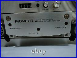 Pioneer Rt-707 Auto Reverse Stereo Reel To Reel Tape Deck Recorder