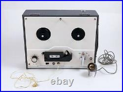 Playboy Portable 5'' Reel to Reel tape recorder/player PB-505 Works