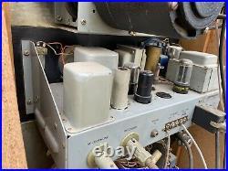 RARE Vintage Magnecord Matching PT6-6A & PT6J Reel Transport, Tube Mixer Preamp