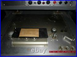 RCA Reel To Reel Tape Recorder Transport Preamp Vintage Studio WOWO